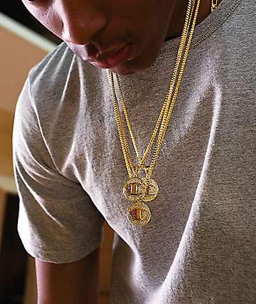Champion Heritage Medallion Gold Necklace