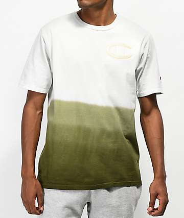 Champion Heritage Ombre Green Pigment Dyed T-Shirt