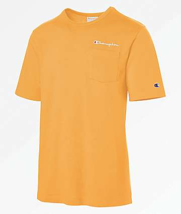 Champion Heritage Orange Pocket T-Shirt