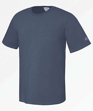 Champion Heritage Pigment Dyed Blue T-Shirt