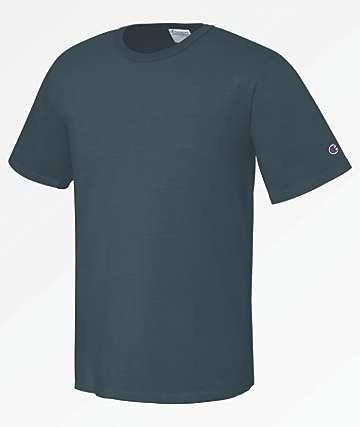 Champion Heritage Pigment Dyed Dark Blue T-Shirt
