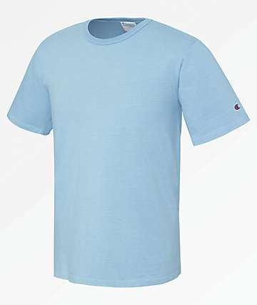 Champion Heritage Pigment Dyed Light Blue T-Shirt