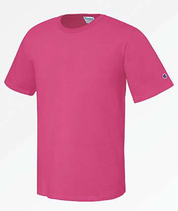 Champion Heritage Pigment Dyed Pink T-Shirt