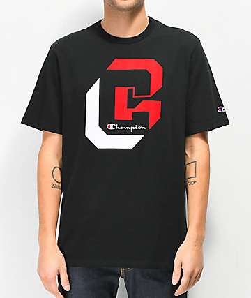 Champion Heritage Shadow Black T-Shirt