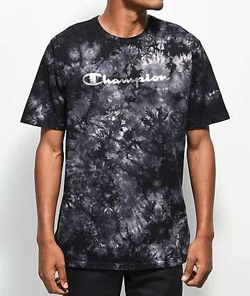 Champion Heritage camiseta con lavado negro