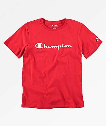 Champion Heritage camiseta roja para niños