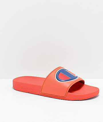 Champion IPO Groovy Papaya Slide Sandals