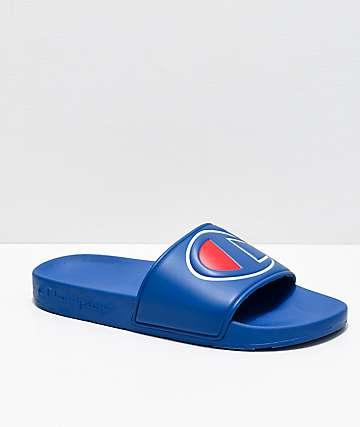 Champion IPO sandalias azul real