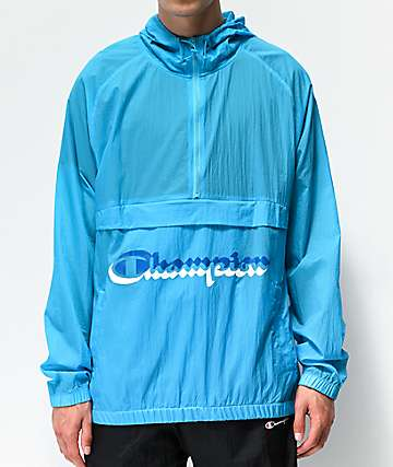 Champion Manorak Tidal Blue Anorak Jacket
