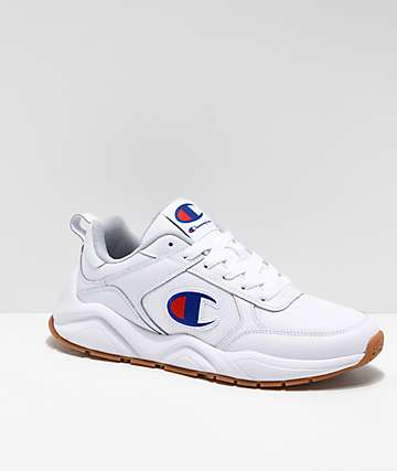 4c87922a9d6 Champion Men s 93 Eighteen Classic White Shoes
