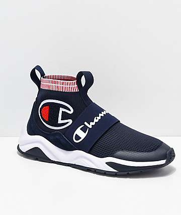 14250dec977 Champion Men s Rally Pro Navy   White Shoes