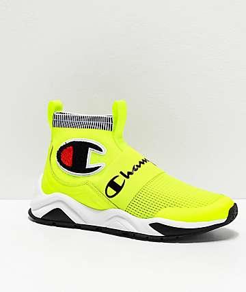 Champion Men's Rally Pro Neon Yellow Shoes