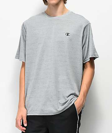Champion Mesh Grey T-Shirt