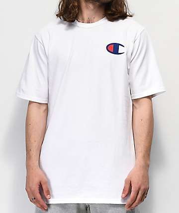 Champion Navy C White T-Shirt
