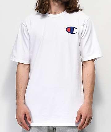 Champion Navy C White T-Shirt