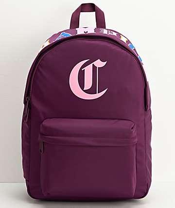 Champion Old C Dark Purple Backpack
