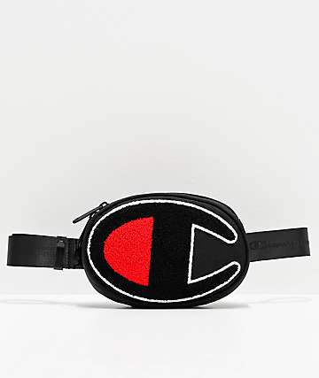 Champion Prime Black & White Fanny Pack