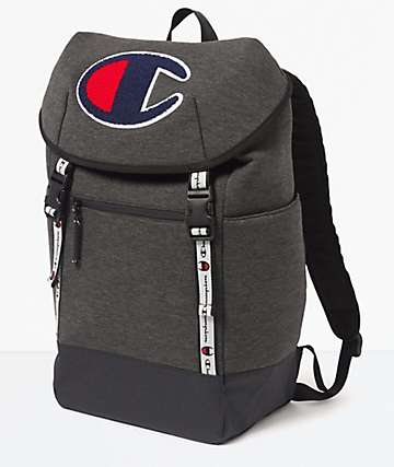 Champion Prime Top Load Grey Backpack