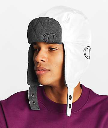 Champion Puffer White Hunters Hat