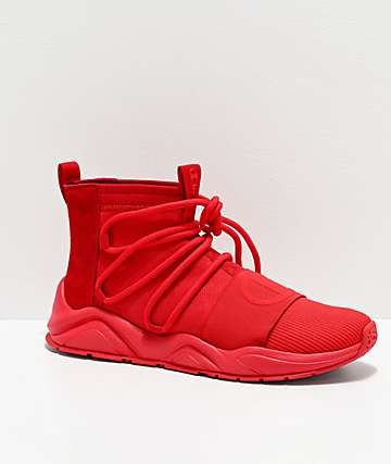 Champion Rally Hype Mid Scarlet Shoes