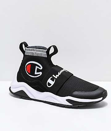 0be708675afc4a Champion Rally Pro Black   White Shoes