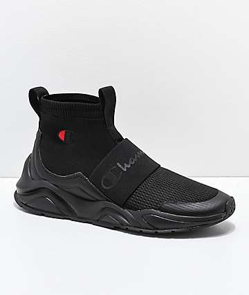 Champion Rally Pro Black Shoes