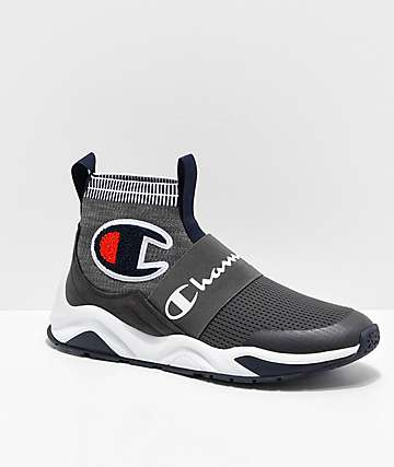 5b6de9d0786 Champion Rally Pro Granite Heather Shoes
