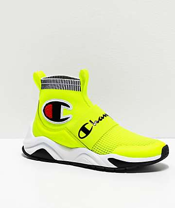 Champion Rally Pro Neon Yellow Shoes