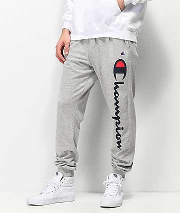 Champion Random Grey pantalones deportivos en gris