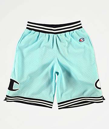 Champion Rec Mint Green Basketball Shorts