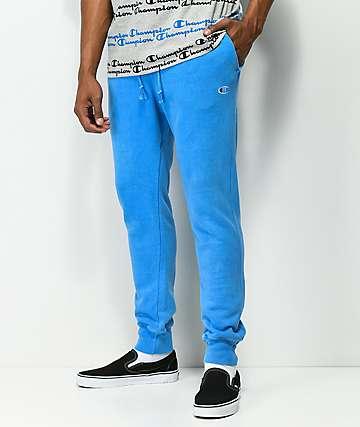 Champion Reverse Weave Blue Jogger Pants