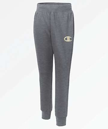 Champion Reverse Weave Chainstitch Charcoal Jogger Sweatpants