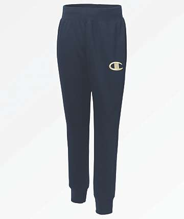 Champion Reverse Weave Chainstitch Navy Jogger Sweatpants