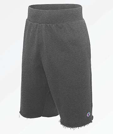 Champion Reverse Weave Charcoal Shorts