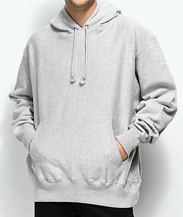 Champion Reverse Weave Grey Hoodie