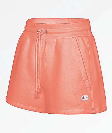 Champion Reverse Weave Groovy Papaya Shorts