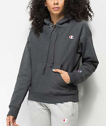 Champion Reverse Weave Heather Granite Hoodie