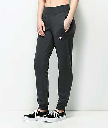 Champion Reverse Weave Heather Grey Jogger Pants