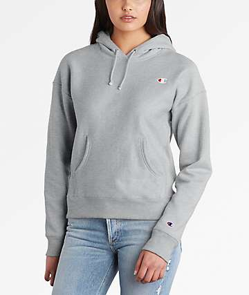Champion Reverse Weave Oxford Grey Hoodie