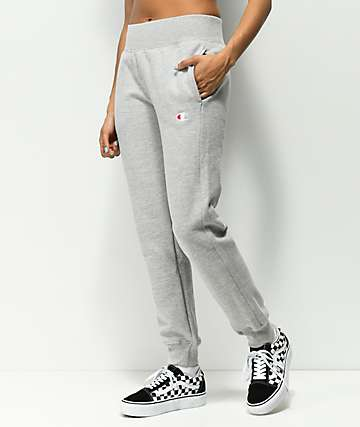 Champion Reverse Weave Oxford Grey Jogger Sweatpants
