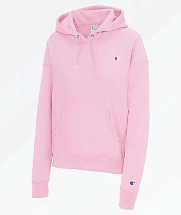 Champion Reverse Weave Pink Candy Hoodie