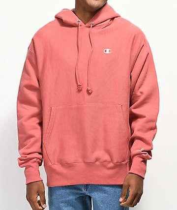 Champion Reverse Weave Pink Hoodie