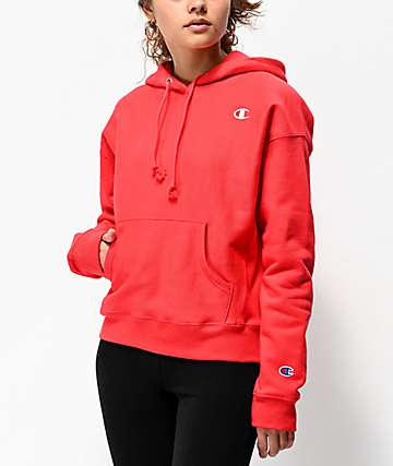 5d807b8916bb Champion Reverse Weave Red Spark Hoodie