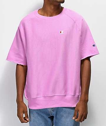 Champion Reverse Weave camiseta rosa
