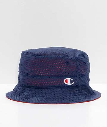 044210fad348b Champion Reversible Red   Navy Bucket Hat