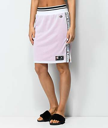 Champion Reversible White & Red Track Skirt