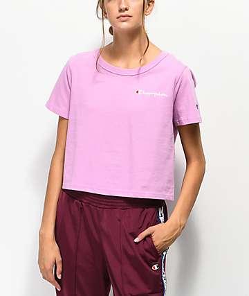 Champion Script camiseta corta rosa