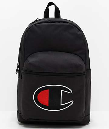 Champion Supercize 2.0 Black Backpack