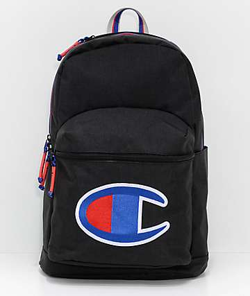 b527fb471575 Champion Supercize Black Backpack
