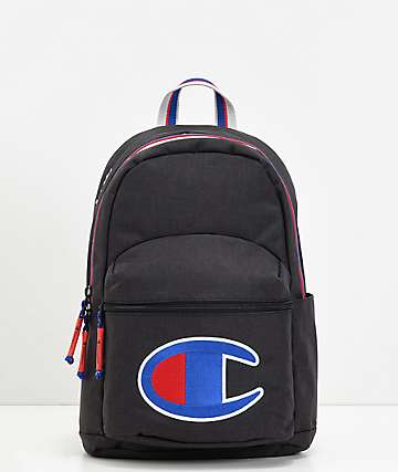 Champion Supercize Black Heather Mini Backpack